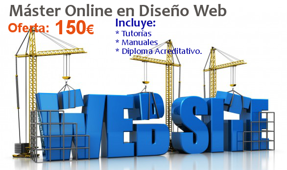 Máster online en Diseño Web.
